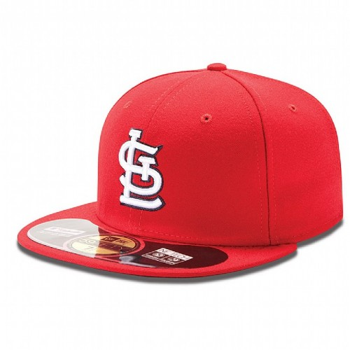 New Era St Louis Cardinals Authentic Red White