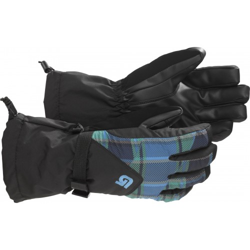 Burton Youth 2-in-1 (blue-ray switch plaid)