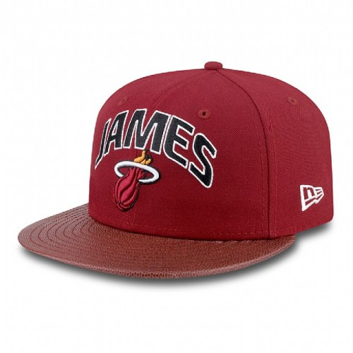 Czapka z daszkiem New Era NBA Players Miami Heat 59FIFTY Fullcap