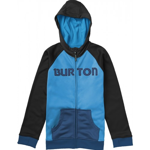 Burton Boys Bonded Hoodie (blue-ray/true black)