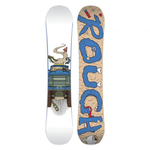 Deska Snowboardowa Męska Rough Revolution Series Rocker 153 2016