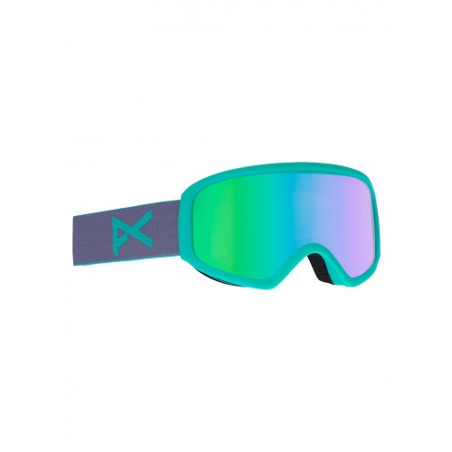 Gogle Snowboardowe Damskie Anon Insight (Gala Purple / Green Solex)