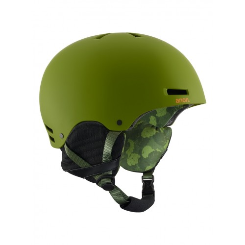 Kask Snowboardowy Męski Anon Raider (Mad Trees Green)