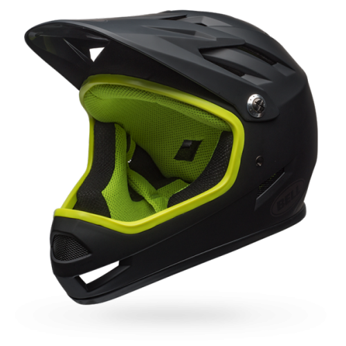 Kask Rowerowy Bell Sanction (Black / Yellow)