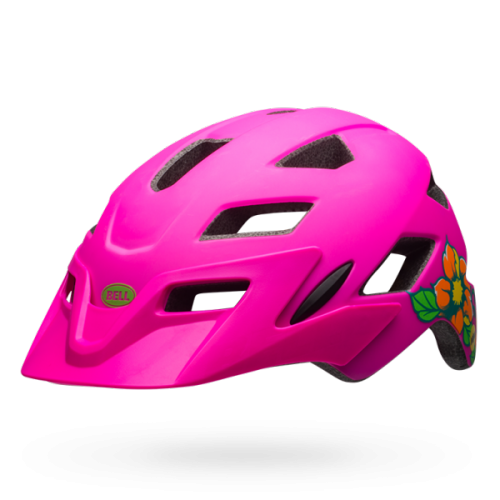 Kask Rowerowy Youth Bell Sidetrack (Matte Pink Blossom)