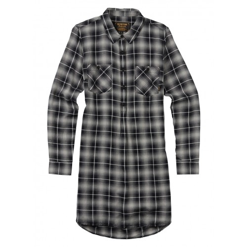 Koszula Damska Burton Grace Tunic (True Black Haze Plaid)