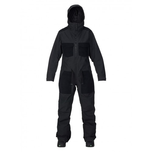 Kombinezon Snowboardowy Damski Burton One Piece (True Black)