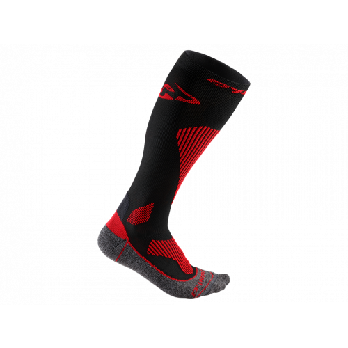 dynafit skarpety skitourowe męskie race performance black red