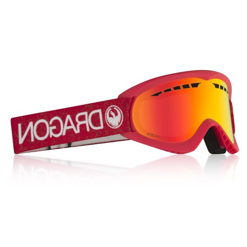 Gogle Snowboardowe Dragon DX (Red / Red Ion)