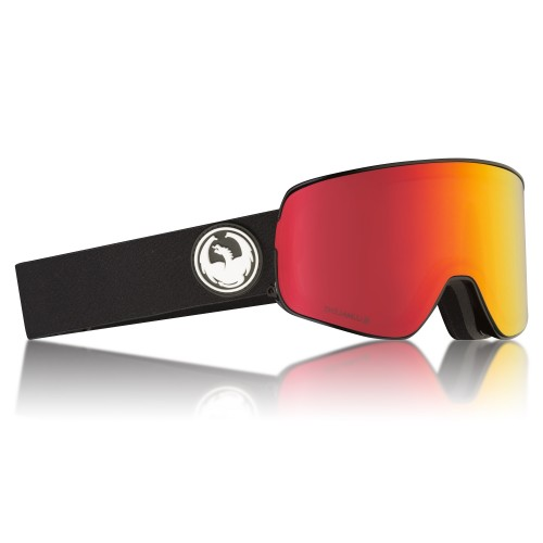 Gogle Snowboardowe Dragon NFX2 (Black Red Ion / Rose)