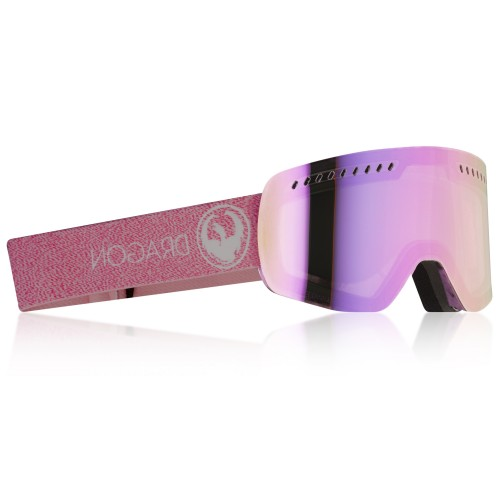 Gogle Snowboardowe Dragon NFXS (Mill Pink Ion / Dark Smoke)