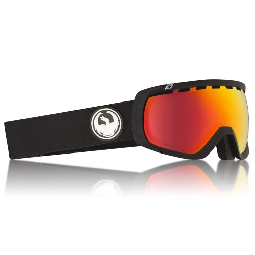 Gogle Snowboardowe Dragon Rogue (Black Red Ion / Rose)