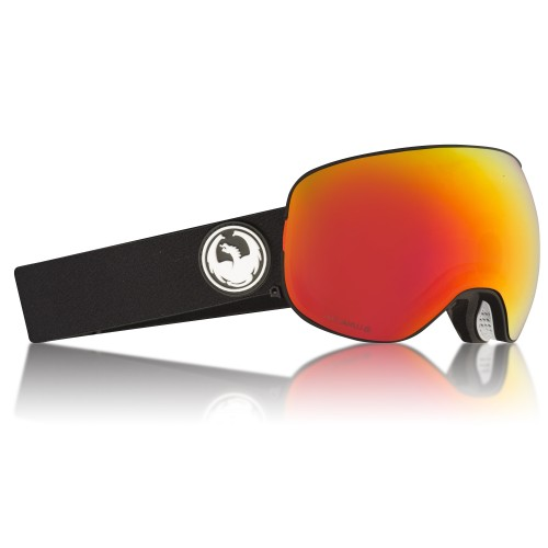 Gogle Snowboardowe Dragon X2 (Black Red Ion / Rose)