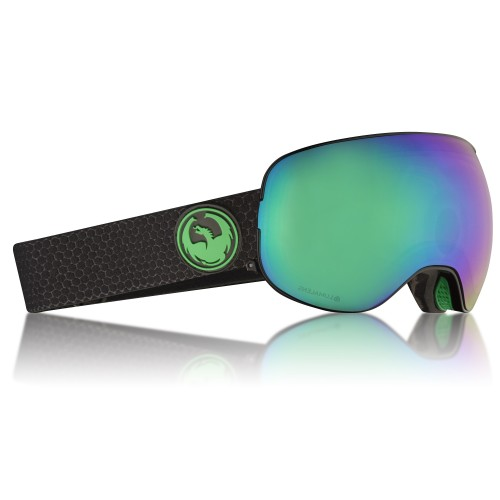 Gogle Snowboardowe Dragon X2 (Split / Green Ion / Amber)
