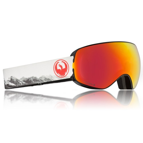 Gogle Snowboardowe Dragon X2S (Realm / Red Ion / Rose)