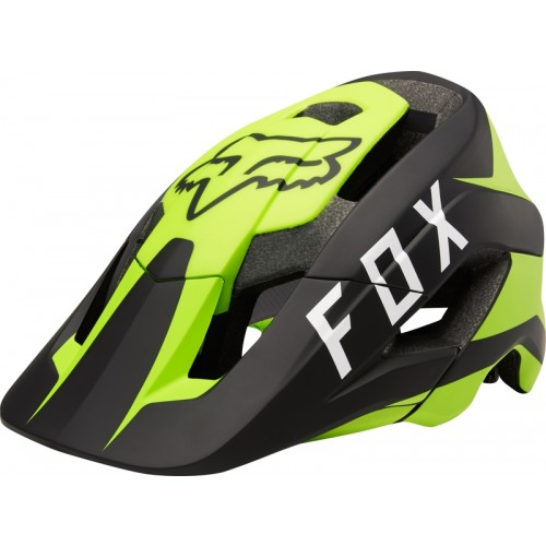 Kask Rowerowy Fox Metah Flow (Yellow / Black)