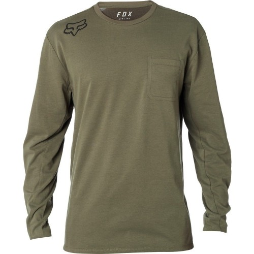 Koszulk Męska Longsleeve Fox Redplater 360 Airline (Fat Green)