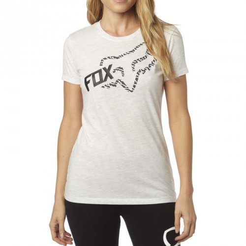 T-shirt Fox Damski Reacted Crew (Heather Grey)