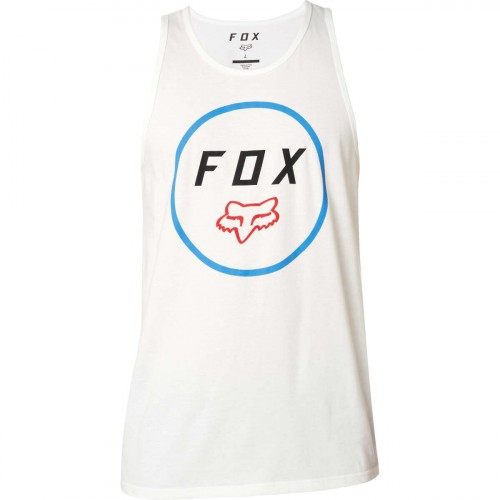 Koszulka Tank Top Męska Fox Settled Premium (Optic White)