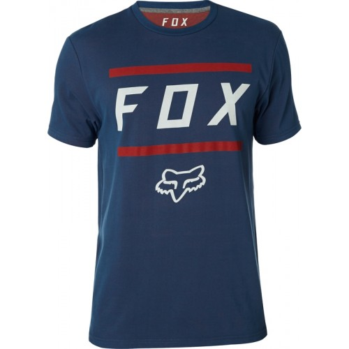 Koszulka Męska Fox Listless Airline (Navy / Red)