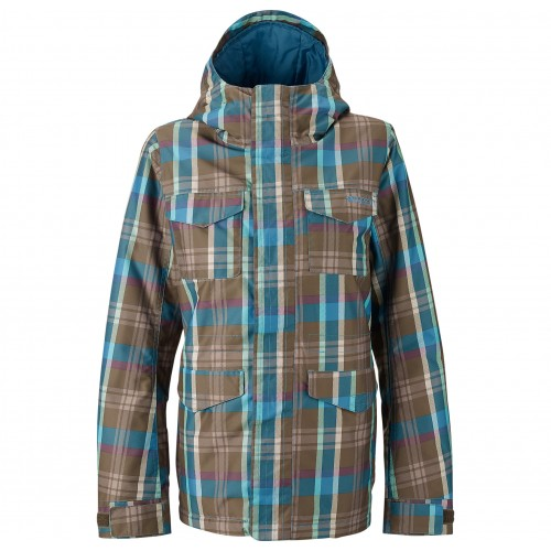 Kurtka snowboardowa damska Burton TWC Search and Enjoy (hadley plaid)