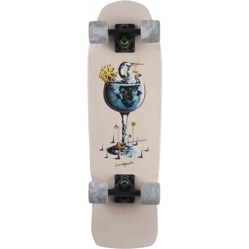 longboard landyachtz dinghy gin and tonic