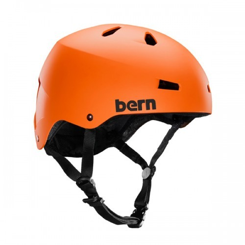 Kask Wakeboardowy Bern Macon (Orange)