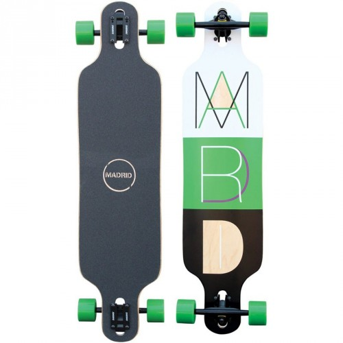 Longboard Madrid Drop - Thru Cutout 2
