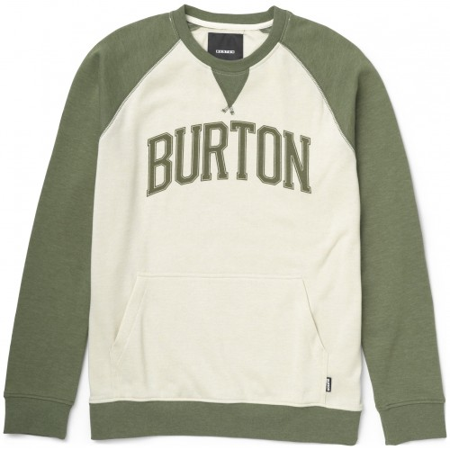 Burton Warm Up Crew (heather olive)