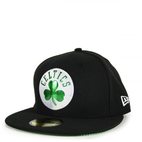 Czapka z daszkiem New Era Team Metallic Boston Celtics 59FIFTY Fullcap